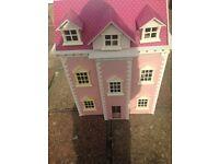 Wooden dolls houses