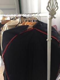 Ladies vintage Pop up shop with rails and mirrors for sale