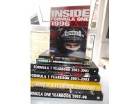 Formula One Yearbook collection x 7. Job lot F1. Motor sport - Hounslow