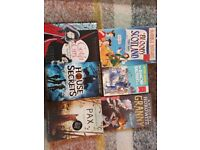 Book bundle 3 Middle grade pre Young Adult, Teenagers