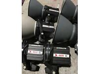 Photography equipment / flashlights