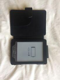 Amazon Kindle & Case (Model: D01100 - 4th Gen)