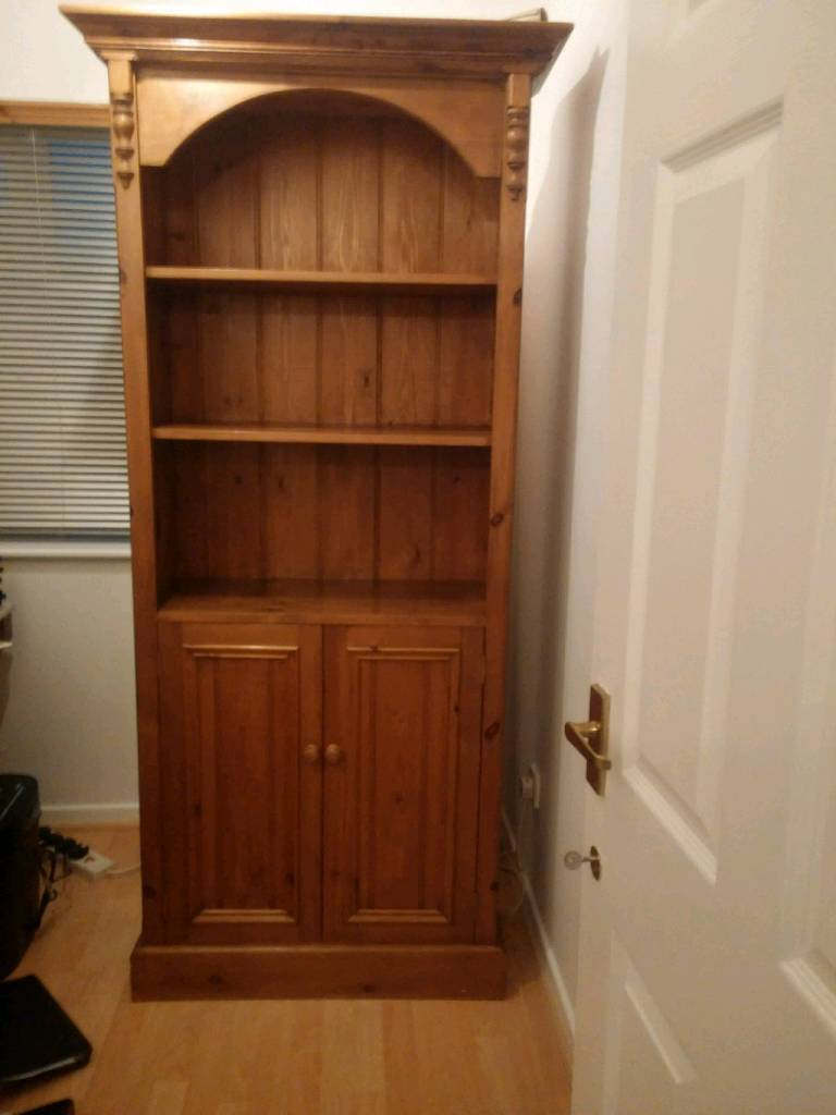 Solid Pine Bookcase.