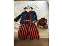 Children's dressing up pirate costume