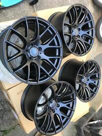 "18"" brand new 3sdm alloy wheels 5x112"