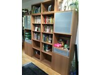 Bookcase/storage units