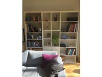4 IKEA bookshelve/storage units