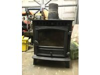 wood burning stove for sale cost £700.00
