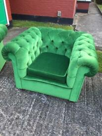 Set of Chesterfield sofas