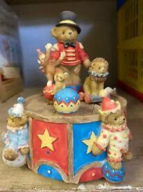 Cherished teddy musical ornament
