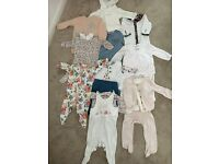 AS New baby Girls Clothes and boots, Laredoute, Mothercare, Mamas and Papas, Next