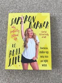 Signed Saffron Barker book