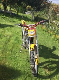 GasGas TXT 125 Trials bike