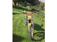 GasGas TXT 125 Trials bike