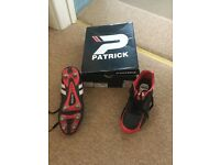 Rugby Boots. Size 8.5. Patrick. Excellent condition.