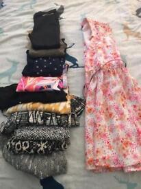 Girls age 10 mixed clothing