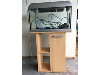Fish tank 60 litres with stand