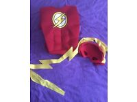'Flash' Costume for age 9-10years **brand new