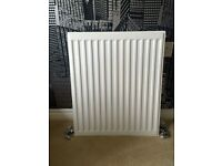 White Radiator and Terrier Valves - Excellent Condition