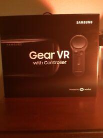 SAMSUNG GEAR VR HEADSET & CONTROLLER