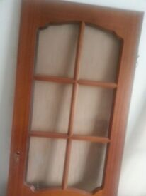 SOLID INTERNAL DOOR FROSTED GLASS