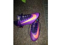 Mercurial boots size 8