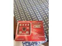 Zoom bass effects pedal B2