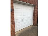 UP AND OVER SECTIONAL GARAGE DOOR. COLLECTION ONLY. OFFERS INVITED