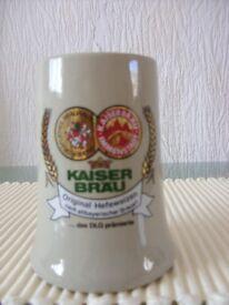 A KAISER BRAU Bier Stein