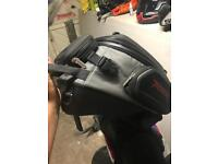 Triumph tiger tank bag and harness