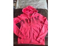 Victoria secrets pink zip hoodie