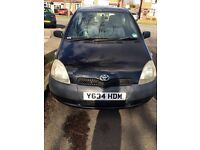 ***CHEAP 2001 TOYOTA YARIS 1.0 PETROL 3DOOR HATCHBACK***