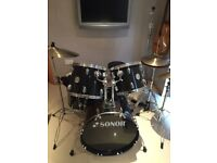 Drum Kit Sonor Special Edition Black/Chrome
