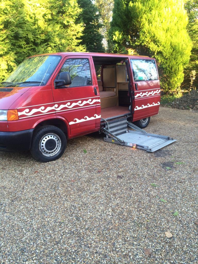 1997 Volkswagen transporter disabled access campervan conversion