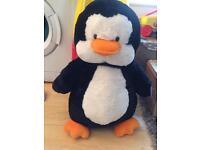 Large penguin teddy