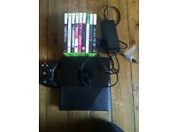 XBOX 360 250GB Games BUNDLE ( 1 Controller, Power Lead )