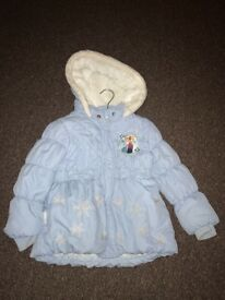 Frozen girls coat 3-4