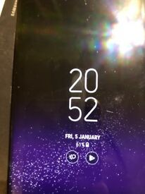 Samsung's s8 orchid grey 64gb unlocked with receipt