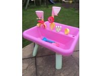 ELC Sand and Water Table Pink