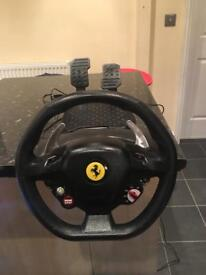 Thrustmaster Xbox 360 / Pc Ferrari racing wheel