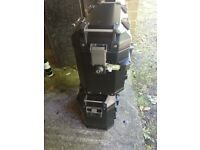 Pair of black Givi Trekker Outback 37 litre panniers nearly new £450