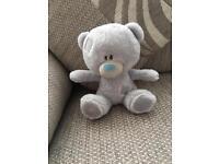 Tiny Tatty Blue Nose Teddy Soft Baby Toy