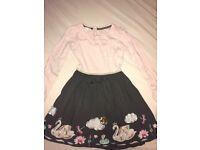 Large bundle girls age 9-10 clothes
