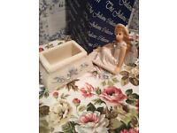 Beautiful fairy trinket box
