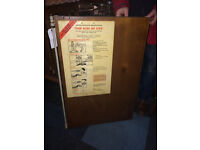 Bygone Collectable Vintage Safety Poster Board – Health & Safety Rules For Your Protection