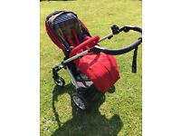 REDUCED! Mamas and Papas Sola Travel System (pushchair, carrycot, car seat and accessories) for sale