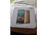 Brand New (Sealed) - HTC M8 - 32gb Storage - Unlocked - Gold Colour.
