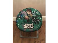 Childrens Ben 10 Folding Chair (Indoor and outdoor use)
