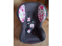 Kiddicare car seat up to 4 years