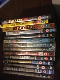 11 DVD's ( inc 1 box set)